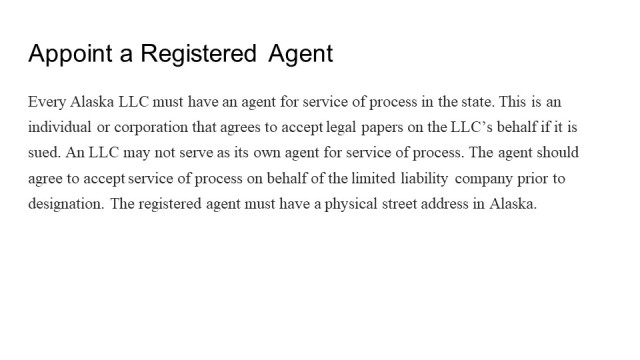 Forming an LLC in Alaska 4