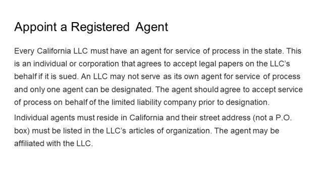 How to form an LLC California 4