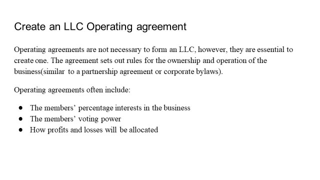 How to form an LLC California 5