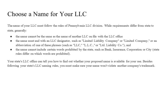 How to form an LLC in Delaware 2
